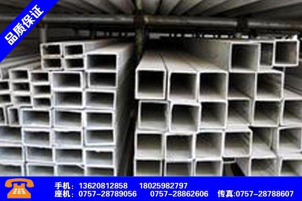梅州平远热浸镀锌方管 米重量专注开发