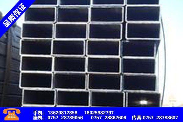 广州白云热浸镀锌方管200 理论重量销售