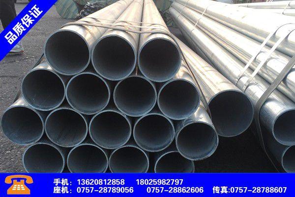 韶关曲江喷丸除锈后热浸镀锌处理钢方管市场数据统计
