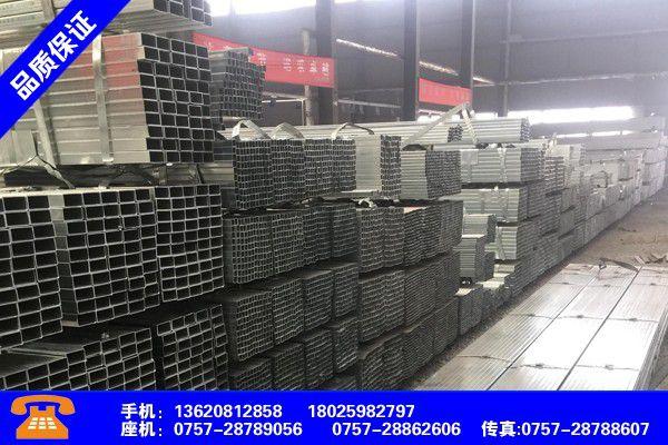 梅州五华热浸镀锌方管价格价格行情