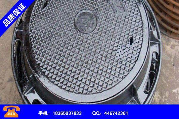 漳州南靖K7球墨鑄鐵管道安裝費止跌反彈