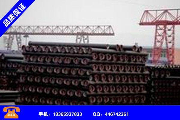 荊州江陵K7球墨鑄鐵管安裝人工費商品介紹