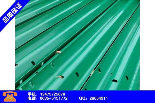 内蒙古阿拉善盟单面波形梁护栏产业市场发展