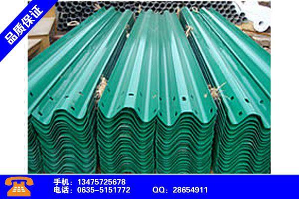 公路波形护栏厚度标准镀锌护栏板产品的区分