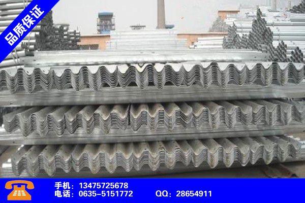 忻州繁峙高速路防撞护栏建设
