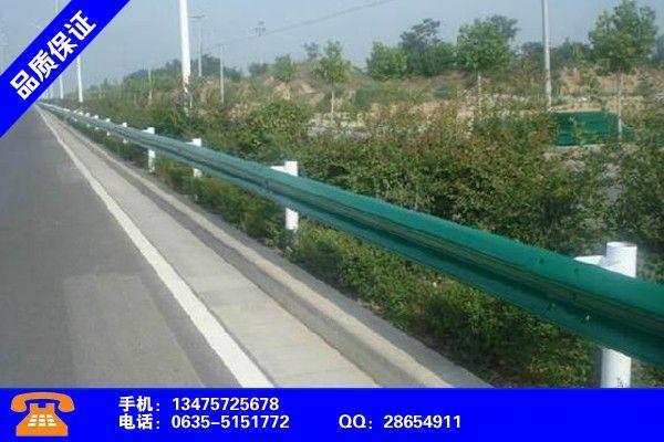 长沙宁乡高速公路防撞栏这里有