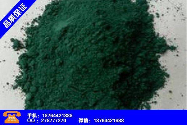 定西漳縣氧化鐵紅工藝流程產品使用中的長處