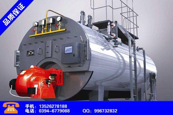 邢台桥西燃气锅炉销售产品的选用
