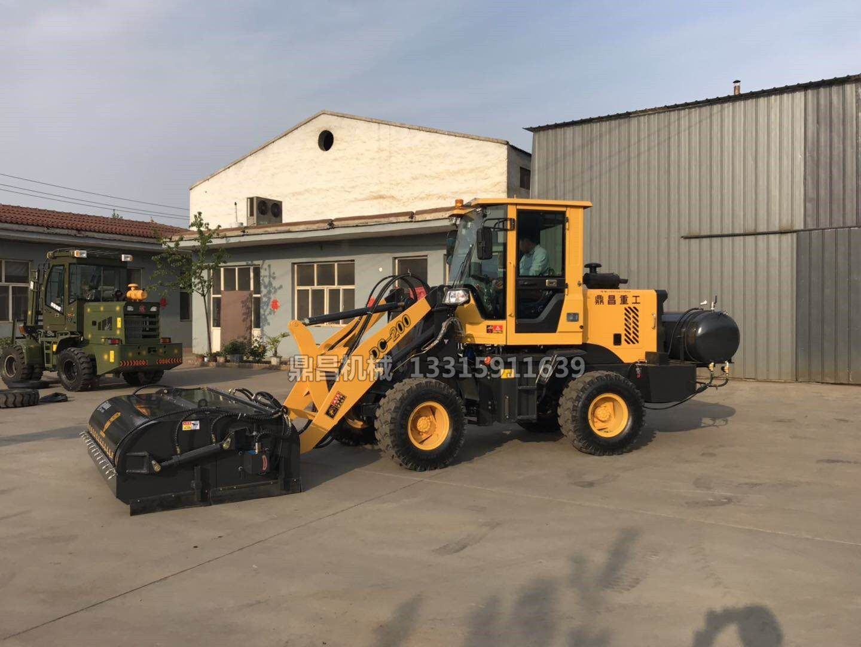 广元利州石灰厂清扫车产品的广泛应用情况