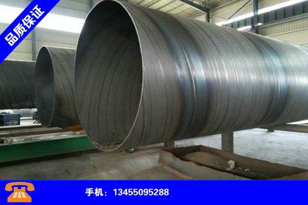 淮安金湖防腐钢管市场风高浪急