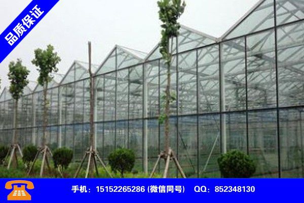 萍乡上栗县温室大棚施工各类产品的不同点