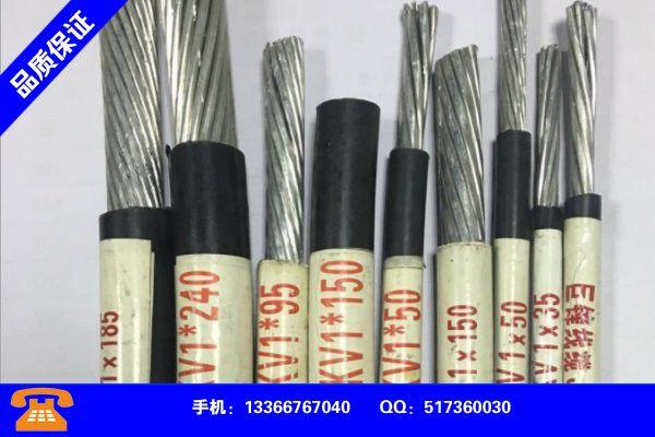 广州黄埔废旧电缆回收怎么处理应用注意事项
