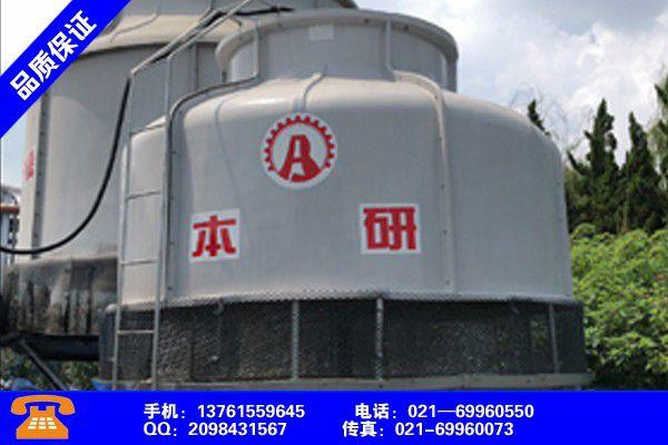 江苏泰州靖江密封闭式玻璃钢冷却水塔送货上