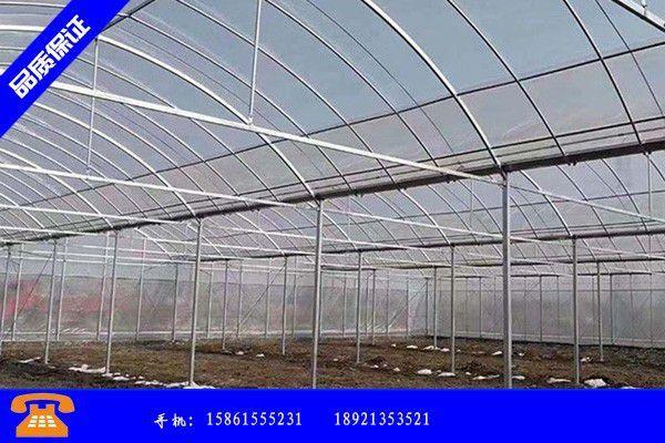黑龙江双鸭山四方台区连体温室大棚销售供应