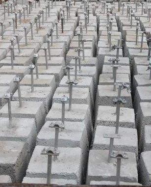 黑河北安水泥避雷墩生产厂家正规化发展