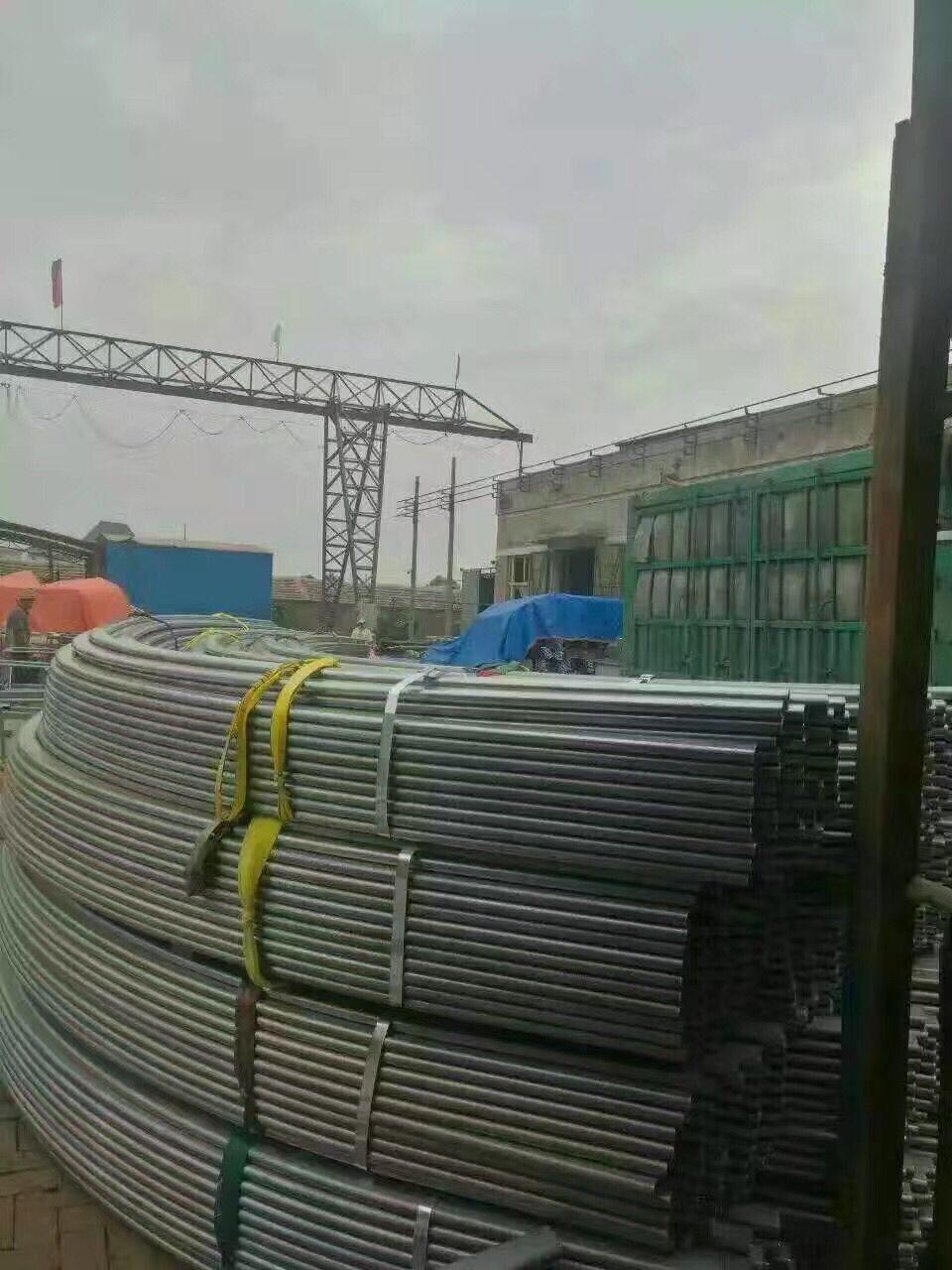 莆田供应材质q235b热镀锌方管仓库