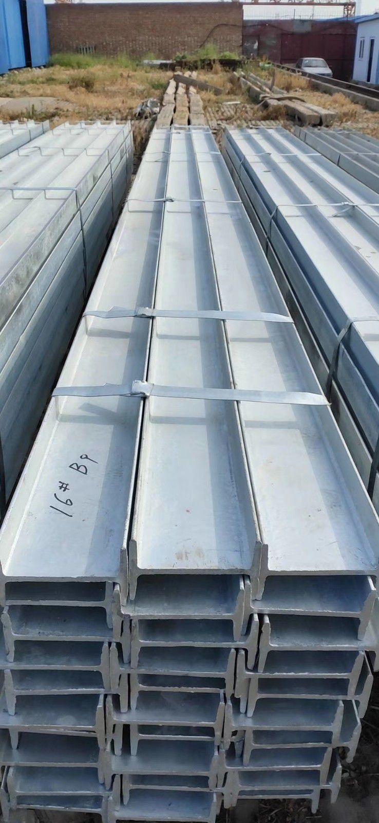 南通Q235B热轧镀锌工字钢批发钢材