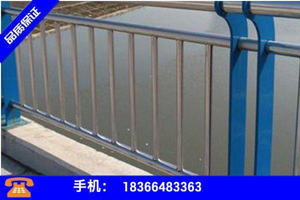 四川成都新津县不锈钢复合管景观护栏制造商