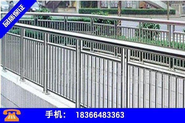 广东湛江遂溪县不锈钢复合管景观护栏分享实