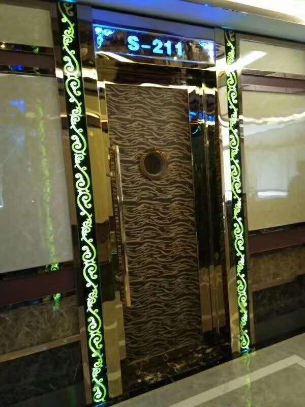 自贡KTV卫生间门应用流程
