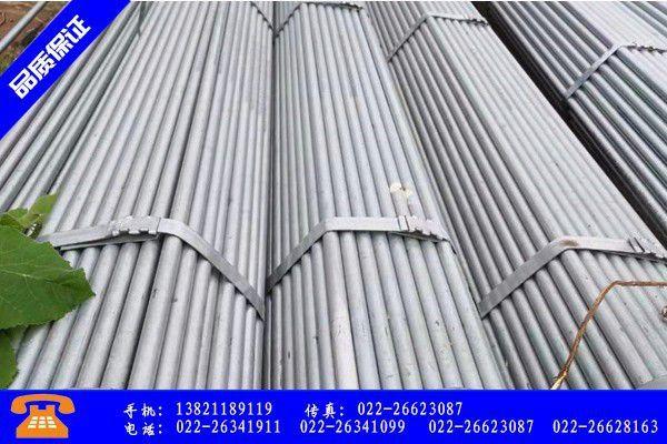 石家莊鍍鋅方管品質提升