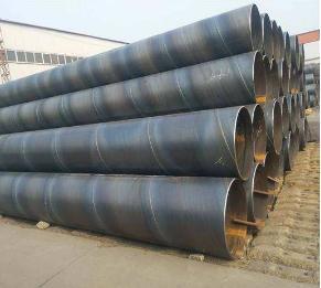 白银国标螺旋钢管产品库
