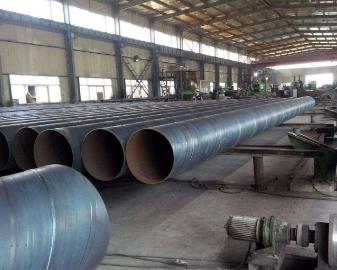 白银大口径螺旋钢管知名厂家