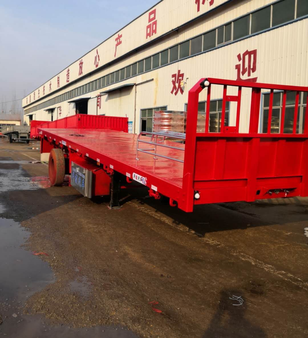 惠州危险品箱式运输半挂车有序推进