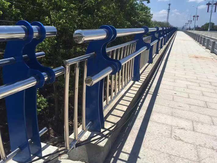 安阳河岸不锈钢防撞护栏2020年图纸