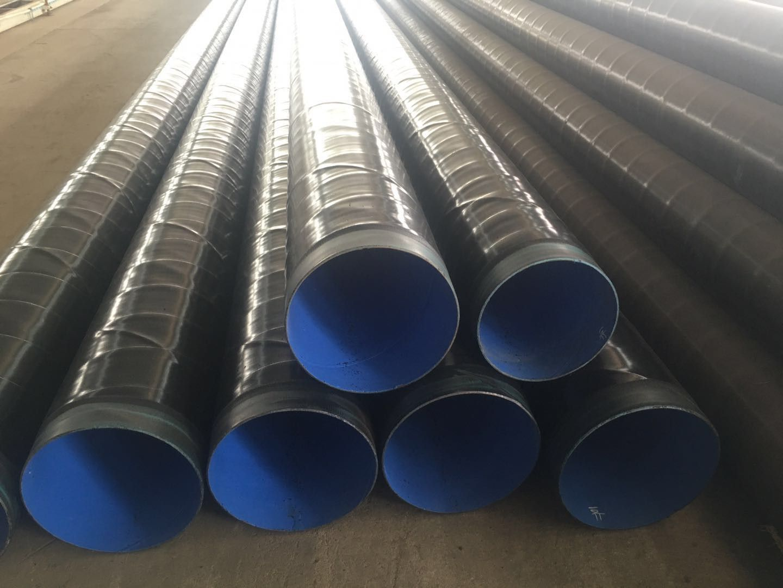 银川环氧煤沥青防腐螺旋钢管价格