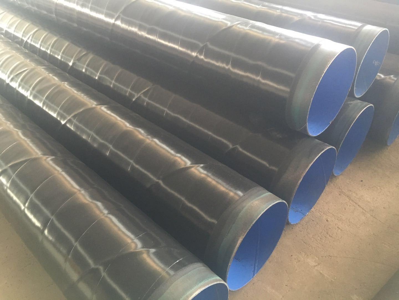 烟台环氧煤沥青防腐螺旋钢管厂家