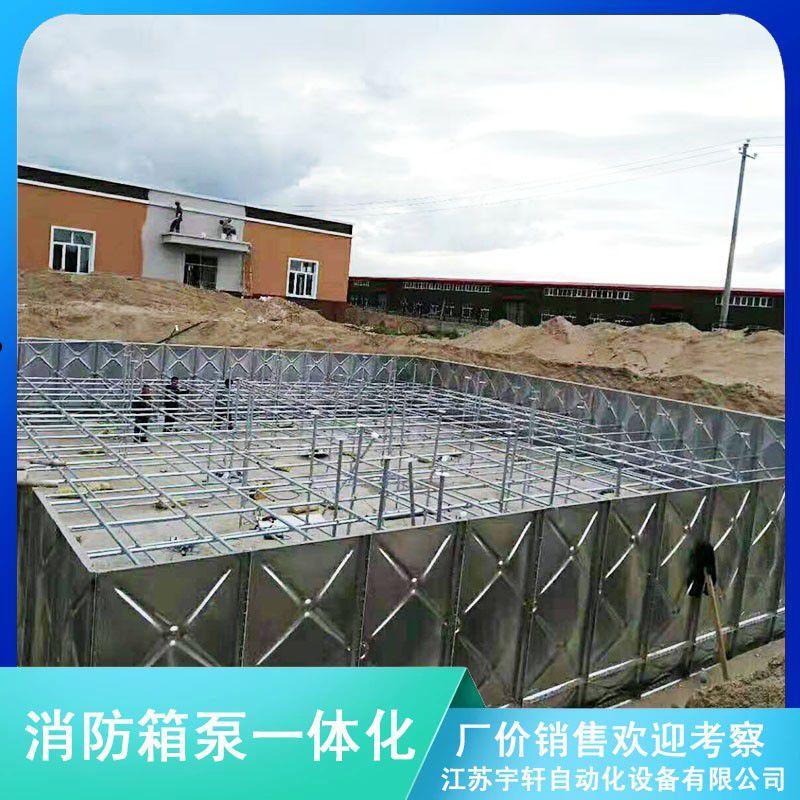 山南不銹鋼消防水箱廠家正規化發展