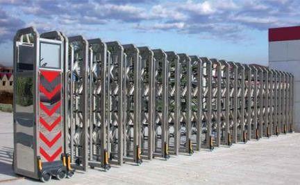 电动不锈钢伸缩门厂家电动伸缩门定做市场规