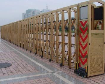 张家口宣化县不锈钢电动伸缩门优质商家