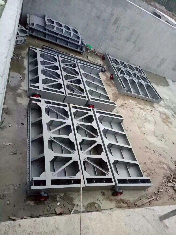 定輪鋼閘門電廠鋼制閘門有實體