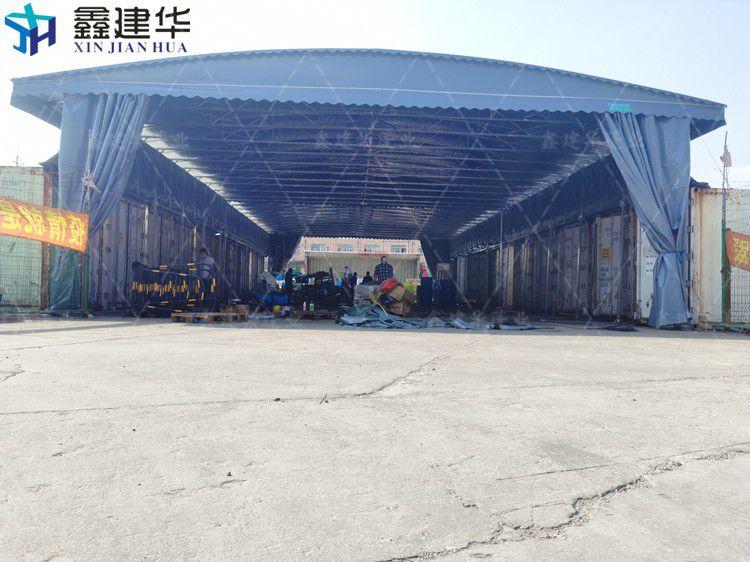 宝山区大型户外仓储篷定制安装