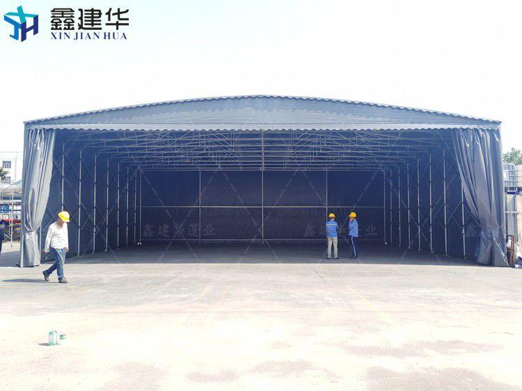 徐汇区大型仓库移动推拉棚安装方便