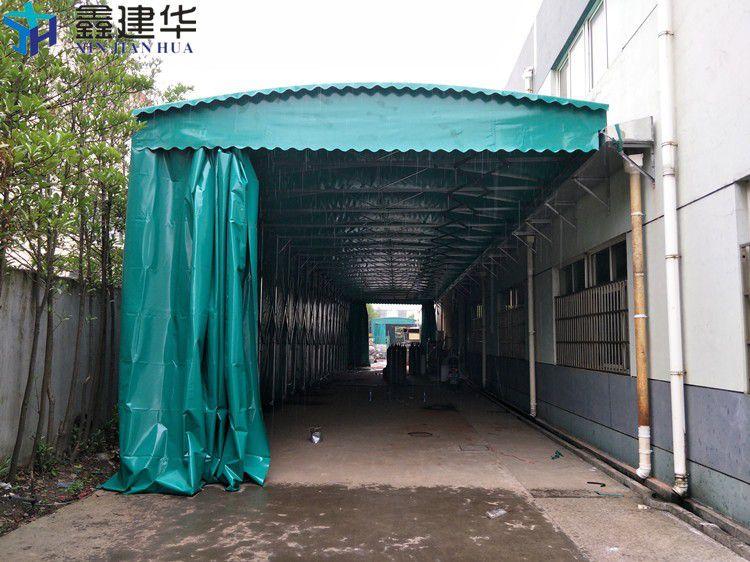 徐汇区大排档雨棚遮阳蓬抗8级大风