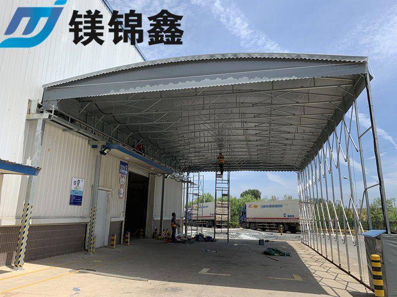 城口县伸缩移动棚批发定制_鑫建华