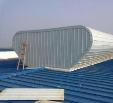 黑河坡型钢制屋面通风设备全部