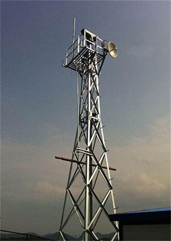 陕西三柱圆钢避雷针塔价格同比上涨