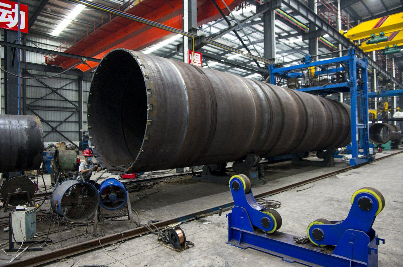 瓦房店钢板卷管生产加工厂家