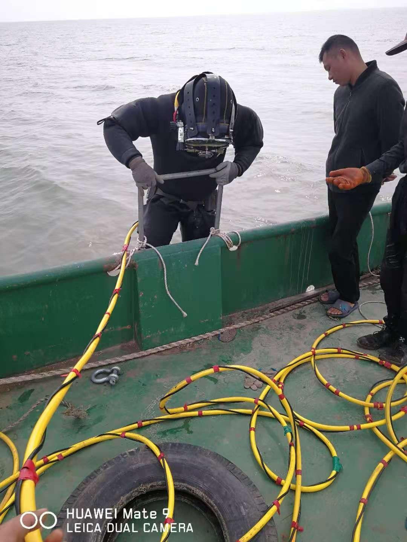 西湖水下打撈全體員工