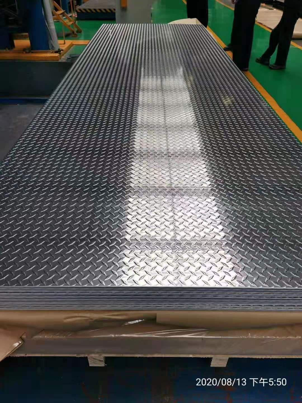 銀州拉絲鋁板今日價格