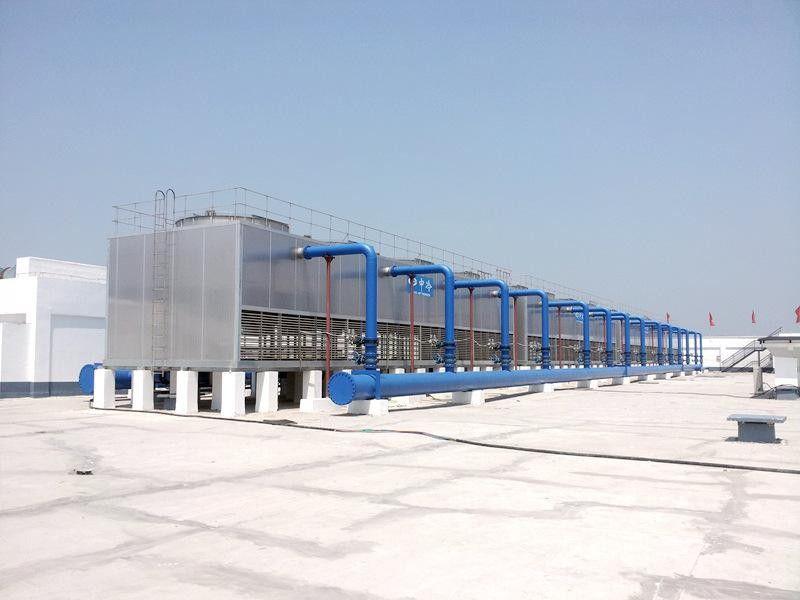 漢川圓形逆流式冷卻塔如何合理安裝與操作