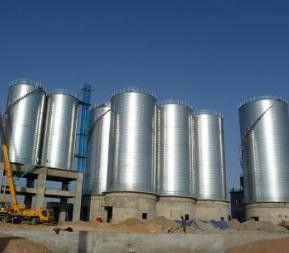 运城大型钢板仓设计安装检验结果