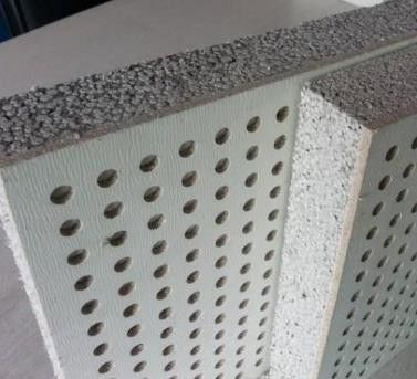 平山穿孔吸声板企业产品