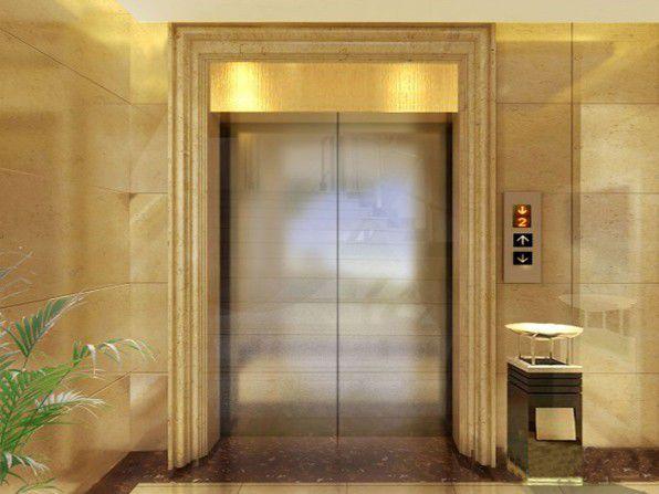 鸡西石塑电梯门套施工图解新闻