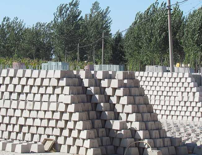陵城区避雷混凝土支墩尺寸