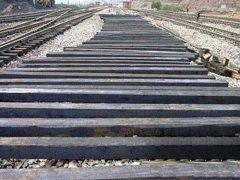 定结县铁路旧枕木